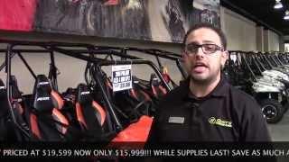 8. 2014 RZR 4 900 EPS Orange Maddness Blowout Sale!