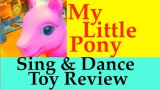 My Little Pony Sing and Dance Pinkie Pie Review by Mike Mozart on TheToyChannel.mov