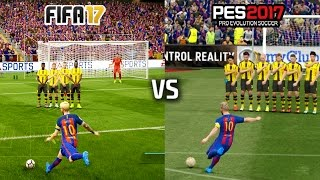 Video FIFA 17 vs PES 17 - FREE KICKS (featuring Messi, Ronaldo, Ibrahimovic, Calhanoglu) MP3, 3GP, MP4, WEBM, AVI, FLV Mei 2017