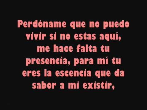 Perdóname - Gilberto Santa Rosa