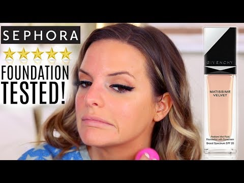 5 STAR FOUNDATION FROM SEPHORA | WEAR TEST! HIT OR MISS? | Casey Holmes