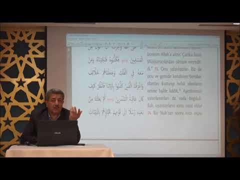 Tuncer Namlı - Yunus Suresi (74 -109) Ayetlerin Tefsiri