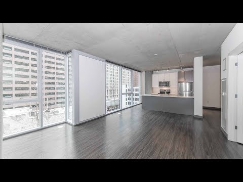 Tour a large one-bedroom at the Loop's new Linea apartments