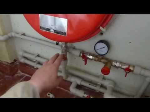 Установка парапетного котла своими руками видео