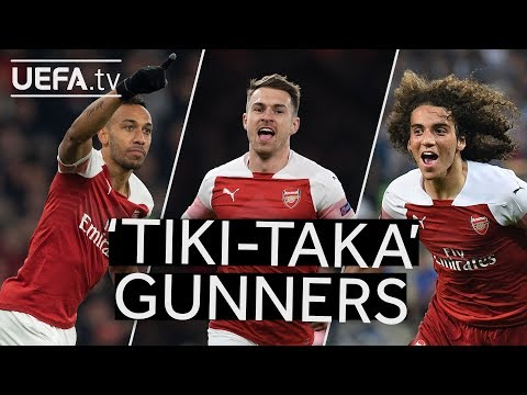 AUBAMEYANG, RAMSEY, GUENDOUZI: Watch The Best ARSENAL Team Goals In This #UEL Season!!