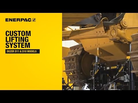 Enerpac Custom Lifting System for Dozer D11 & D10 models