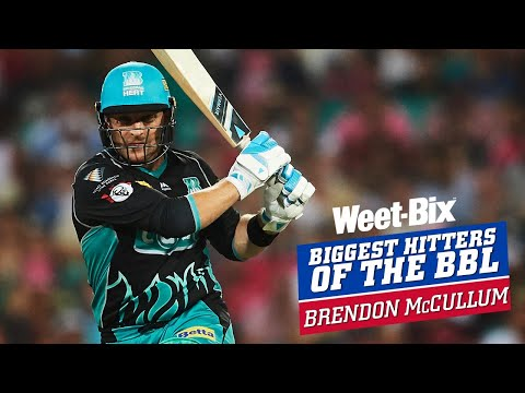 Biggest Hitters of the BBL: Best of Brendon McCullum
