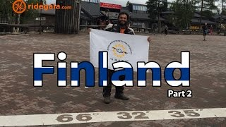 Ep 17 - Finland (part2) - Motorcycle Trip around Europe