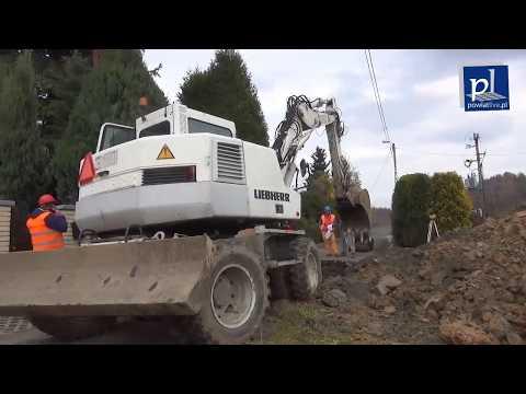 Ruszyła budowa kanalizacji w Kleczy Dolnej