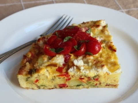 Summer Vegetable Frittata!