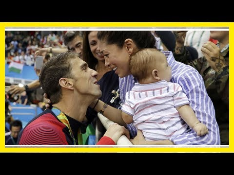Michael Phelps shares adorable photos after birth of baby boy- Newsnow Channel