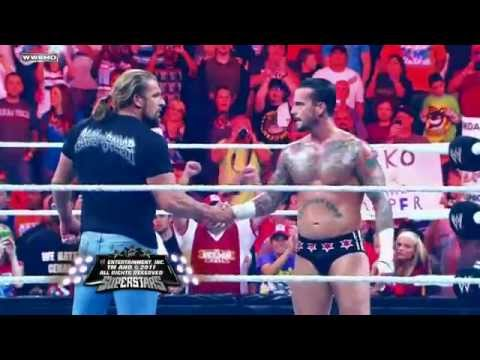 WWE Vengeance 10/23/11 - Triple H & CM Punk Vs The Miz & R-Truth - Tag Team Match Promo HD