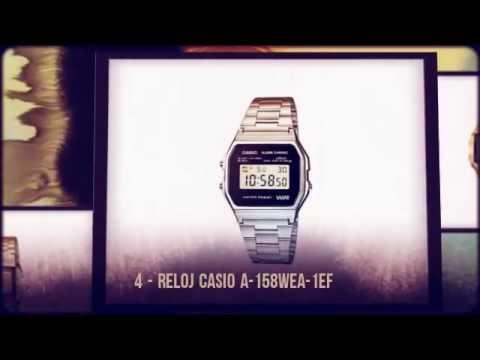 Relojes CASIO Más Vendidos de 2012