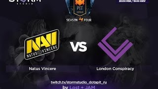 London vs Na'Vi, game 2