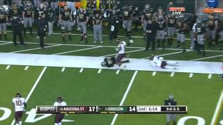 Kenjon Barner vs Arizona & ASU (2011)