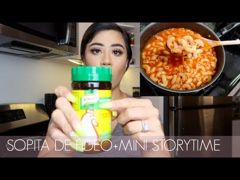 SOPITA DE FIDEO//MINI STORY TIME