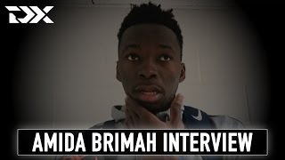 Amida Brimah Interview at the 2017 Portsmouth Invitational Tournament