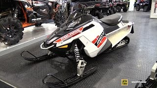 7. 2015 Polaris Indy 600 Snowmobile - Walkaround - 2014 Toronto ATV Show