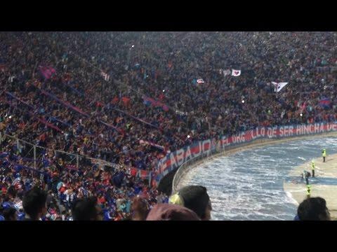 Vamos vamos los leones...... 1er Gol / Udechile vs iquique - Los de Abajo - Universidad de Chile - La U