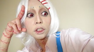 Video 「東京喰種」- Tokyo Ghoul - 鈴屋什造メイク方法(化粧)Juuzou Suzuya Makeup Tutorial MP3, 3GP, MP4, WEBM, AVI, FLV Juli 2018