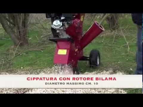 Biotrituratore, cippatore professionale hp.15