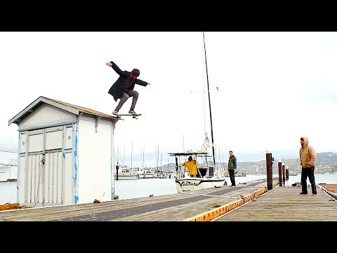 Van Days Ep. 7 -Sailboat Days- Skateboarding Adventure by Sailboat! San Francisco Bay