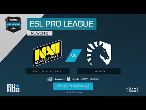 Na`Vi vs Liquid - ESL Pro League S7 Finals - map1 - de_dust2 [Enkanis, CrystalMay] (видео)