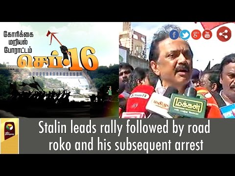 Stalin-leads-rally-followed-by-road-roko-and-his-subsequent-arrest