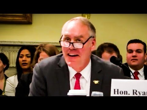 Ryan Zinke Proves How Embarrassingly Tone-Deaf He Is (видео)