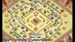 Video Max TH10 Walk Queen With Vallky Bowler Attack On Anti3 War Base | 3 Star TH10 | Clash Of Clan MP3, 3GP, MP4, WEBM, AVI, FLV Juli 2017