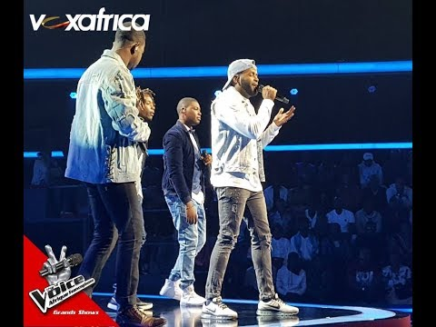 "Equipe Singuila "" Fall Again "" De Glenn Lewis L Les Grands Shows L The Voice Afrique 2018"