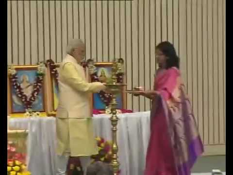Video SVM Bhuli, our beloved PM India Shri Narendra Modi ji in Vidya Bharti National Principal sumit download in MP3, 3GP, MP4, WEBM, AVI, FLV January 2017