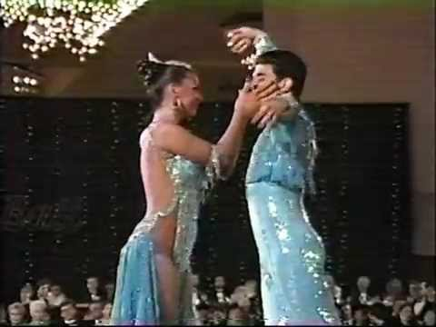 Corky & Shirley Ballas Rumba Solo At Osb Competition