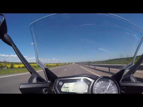 Yamaha XJ6 Ride Footage 14