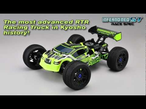 Kyosho - The Neo Race Spec Truck, like the buggy version, is the most well-equipped RTR to come from the Kyosho factory, where they're created eight World Champions -...
