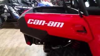 4. 2017 CAN-AM COMMANDER 800REFI   C000139