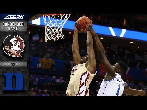 Florida State vs. Duke Condensed Game   2018-19 ACC Basketball