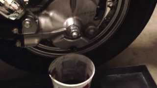 9. Drive shaft oil 2006 Honda shadow aero 750 part 1