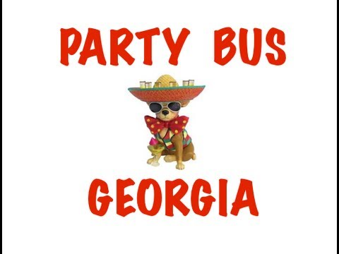 Party Bus Rental in Georgia – Atlanta, Columbus, Savannah, Athens, Macon
