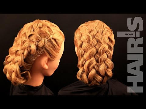 How to do a three French braid hairstyle