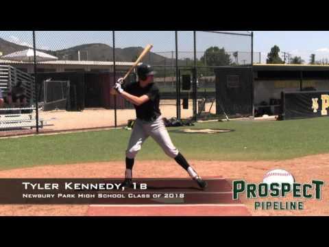 Tyler Kennedy Prospect Video, 1b, Newbury Park High School