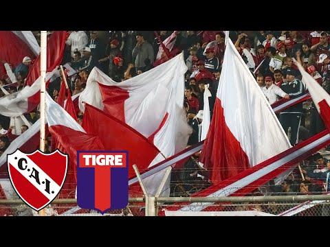 Independiente 1 - Tigre 0 | compilado de la hinchada - La Barra del Rojo - Independiente