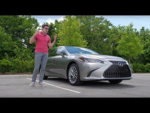 Главное, не думать про Камри – Новый Lexus ES 2019. Тест-драйв и обзор онлайн видео