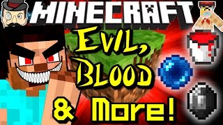 Minecraft EVIL MINECRAFT! Blood, Werewolves, Blood Energy, Undead Trees&More!