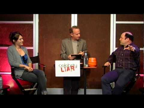 Lizzy Caplan - Jason Alexander and Lizzy Caplan battle it out on this edition of Celebrity Liar with hosts Andrew Hill Newman and Valerie Azlynn.