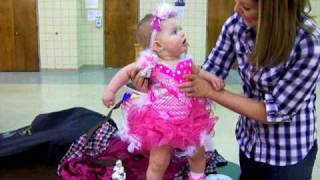 Beauty Pageant Baby Kicks Trophy - Lilah