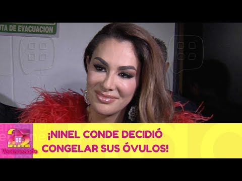 ¡Ninel Conde decidió congelar sus óvulos! | 22 de febrero 2021 | Ventaneando