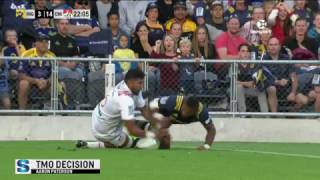 Highlanders v Chiefs Rd.1 2017 Super Rugby Video Highlights