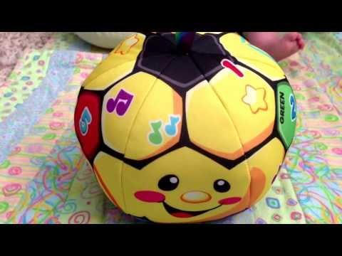 Мой первый мяч Fisher Price, украинский язык