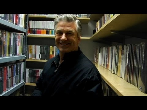 alec - The supremely talented Alec Baldwin stopped by the Criterion Collection office and the DVD closet!